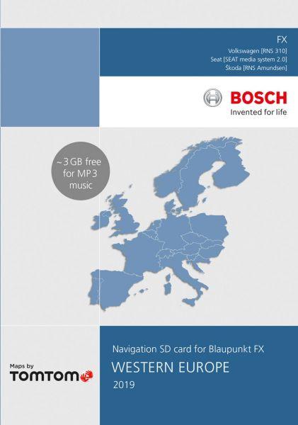 SD-Karte West-Europa 8 GB TP FX 2019 - TomTom - i1031164