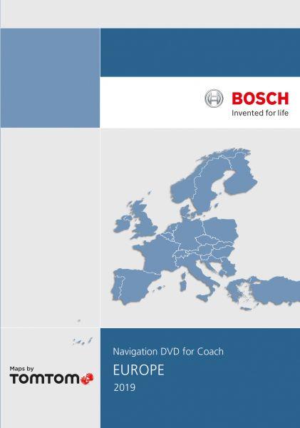 DVD-ROM Europa Blaupunkt Bosch Coach Navigation PX-V 2019 - TomTom - i1031134