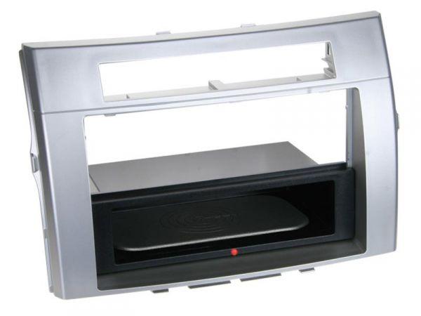 2-DIN RB Inbay® Toyota Corolla Verso silber bis 2009 - Qi-Standard