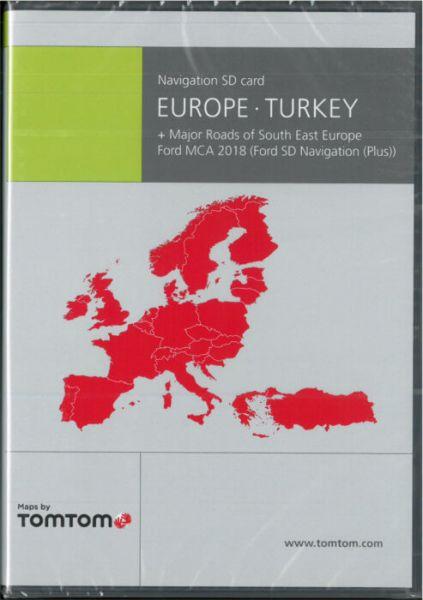SD-Karte Europa + Türkei Ford MCA 2018 - TomTom - i1031118