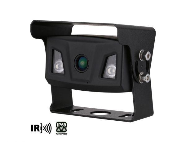 Ampire Ultra-Weitwinkel Farb-Rückfahrkamera, IP69K, Heckeinbau, 10m Kabel