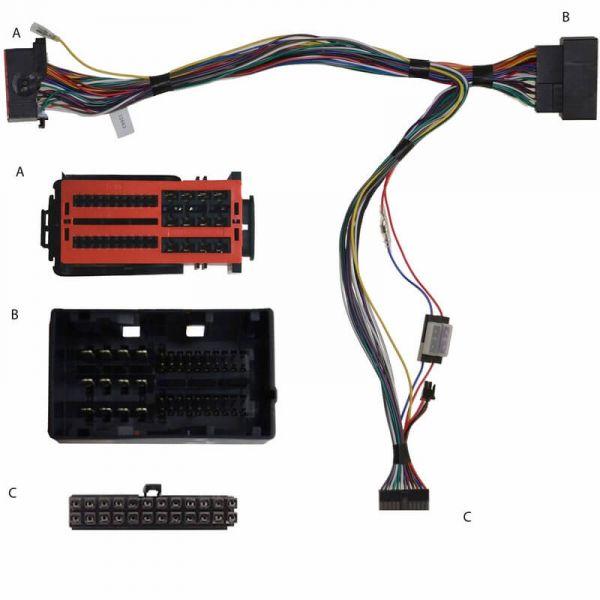 Audio2Car Adapter Citroen, Dodge, Fiat, Jeep, Peugeot - Kram - 84250