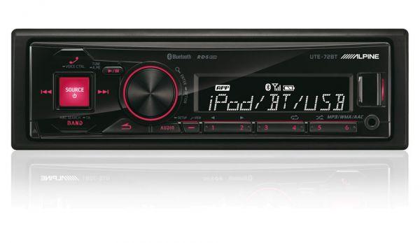 Alpine UTE-72BT - Autoradio mit Bluetooth ohne CD-Laufwerk