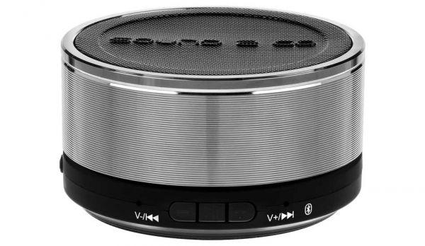 Sound2Go BigBass XL universe - mobiler Bluetooth Lautsprecher - Farbe alu/chrom