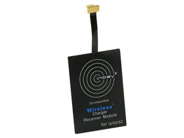 Inbay® Induktiver Qi-Ladeempfänger iPhone 5/5S/5C/6/6S/6+ - Qi-Standard