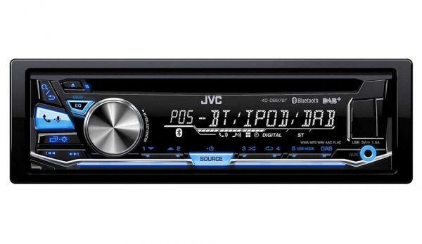 JVC KD-DB97BTE - Autoradio mit DAB und Bluetooth (inkl. DAB+ Antenne)