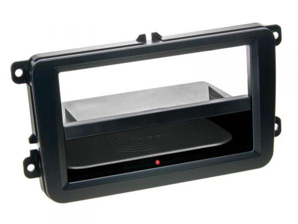 2-DIN RB Inbay® PRO Seat / Skoda / VW schwarz - Qi-Standard