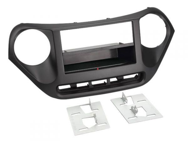 2-DIN RB Inbay® Hyundai i10 schwarz ab 10/2013 - Qi-Standard