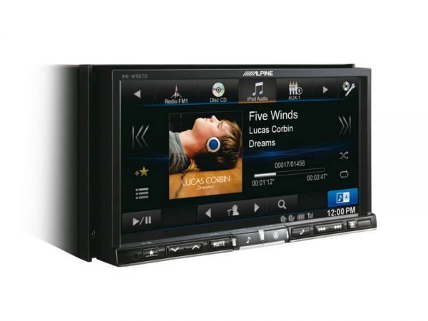 Alpine INE-W987D - 2-DIN Navigationssystem mit 7 Zoll Display