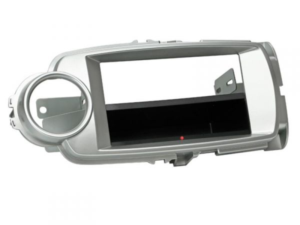 2-DIN RB Inbay® Toyota Yaris silber ab 2011 - Qi-Standard