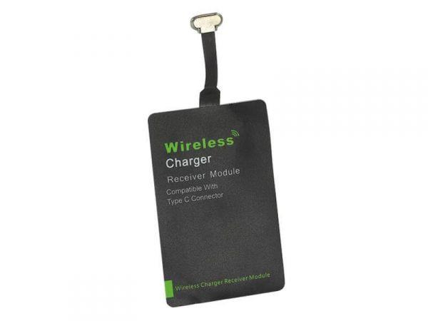 Inbay® Universaler Induktiver Qi-Ladeempfänger USB 3.1 C - Qi-Standard