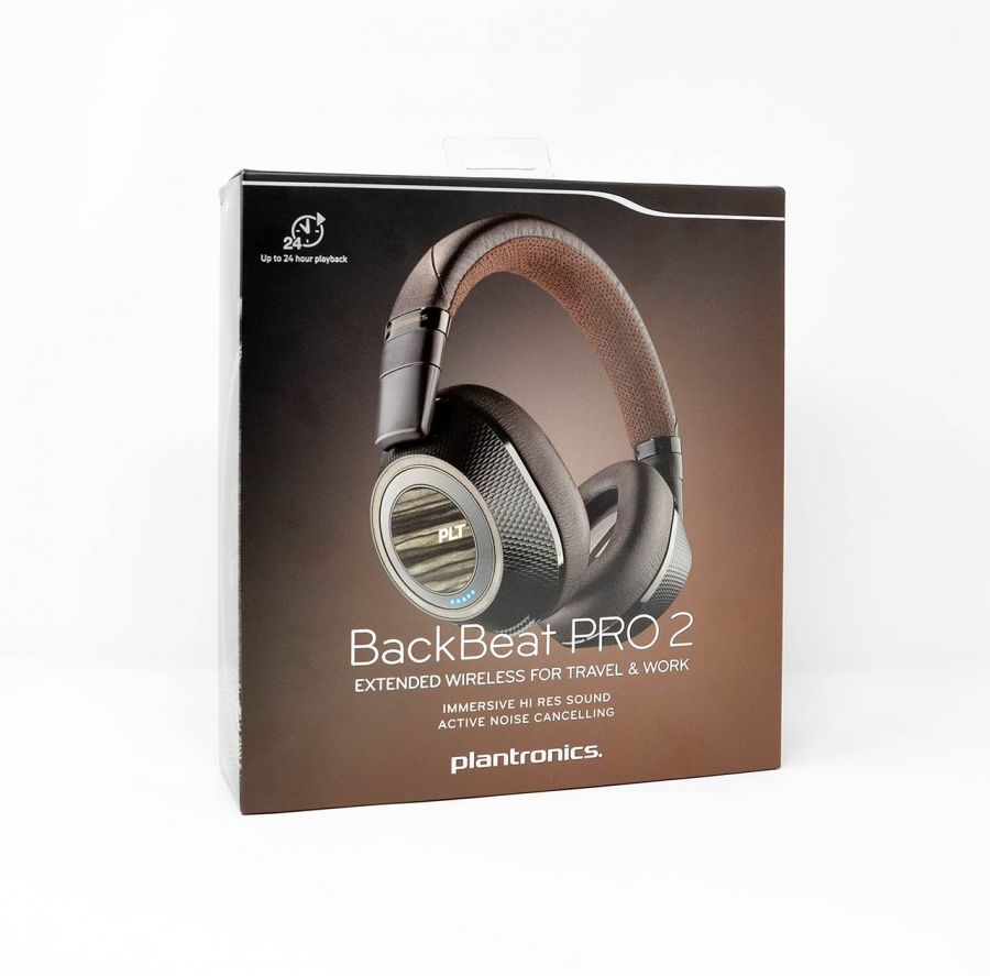 plantronics bluetooth kopfh rer backbeat pro 2 schwarz ebay. Black Bedroom Furniture Sets. Home Design Ideas